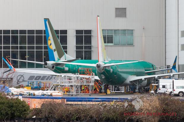 авіація, Україна, Boeing