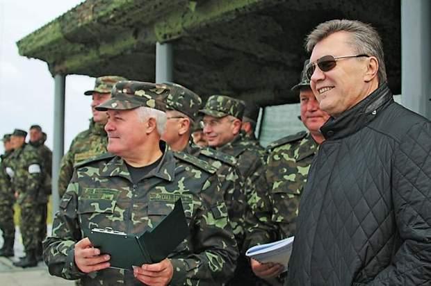 Володимир Замана і Янукович