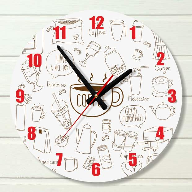 Годинник на кухню