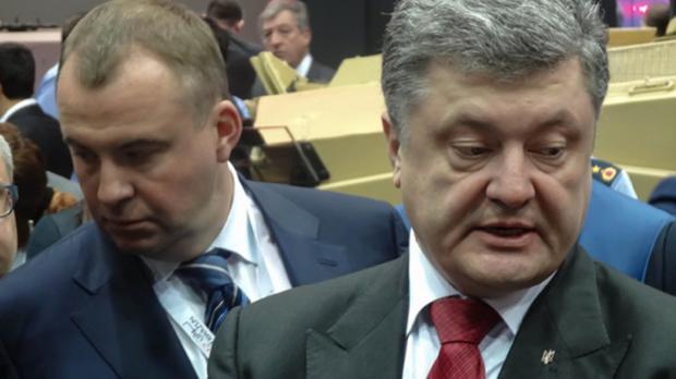 Петро Порошенко Олег Гладковський