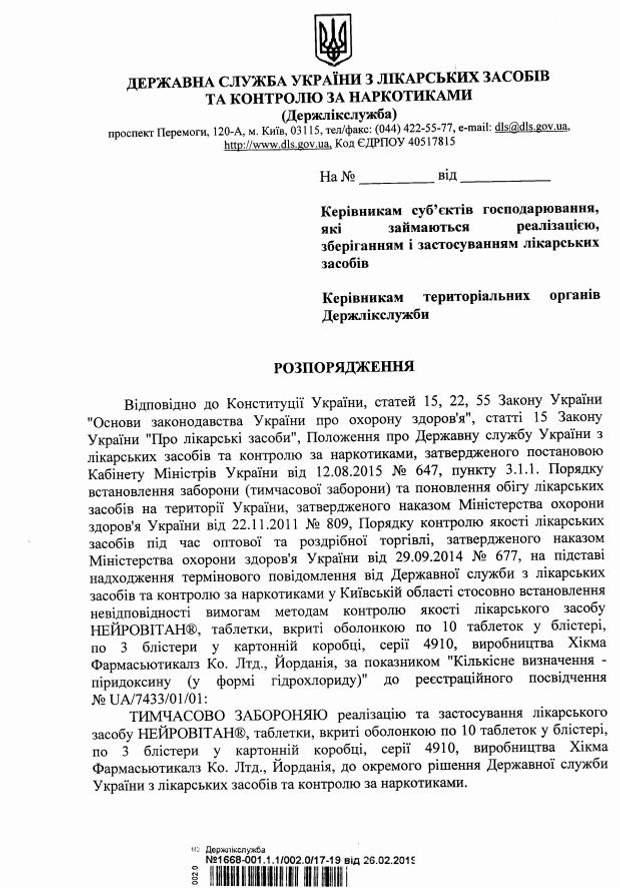 В Україні заборонили серію полівітамінів