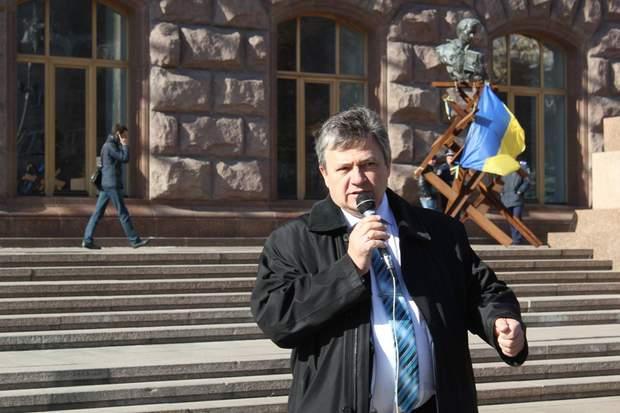 Кандидат у президенти Микола Габер