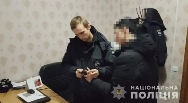Напад на поліцейського в Одесі