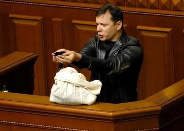 Ляшко наголошує, що земля має належати українцям