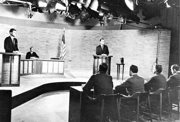 Дебати між кандидатами у президенти США Джоном Кеннеді та Річардом Ніксоном