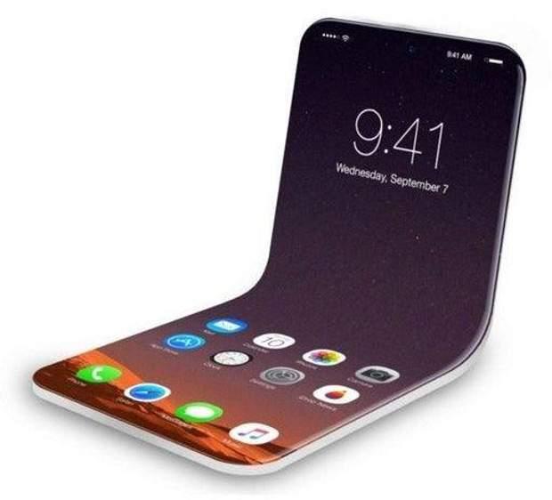 Концепт гнучкого iPhone