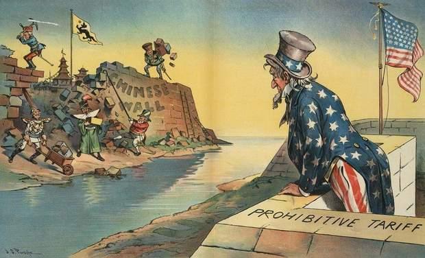 Карикатури з Дядьком Семом