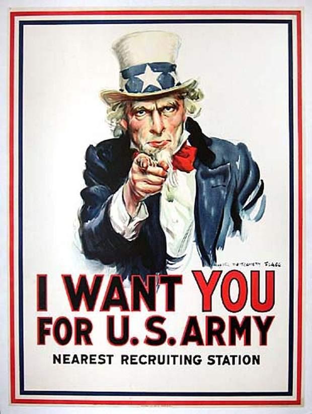 Вербувальний плакат США