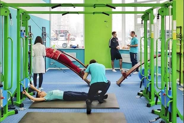 Лікування спини на тренажері