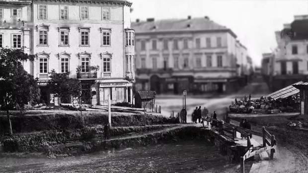 Річка Полтва пролягає центром Львова