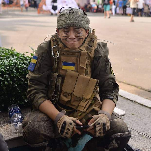Ван Фам, В'єтнам, косплей, Україна, ЗСУ, Донбас