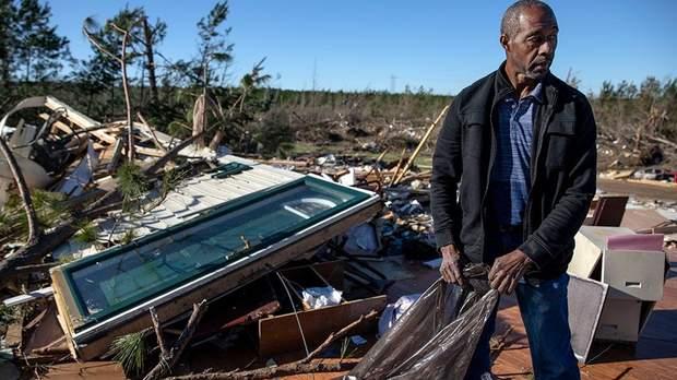 торнадо Алабама США