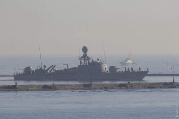 В Одесу зайшли військові кораблі