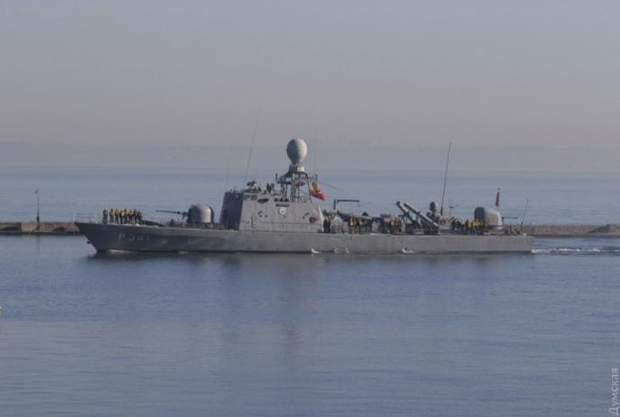 В Одесу зайшли військові кораблі Туреччини
