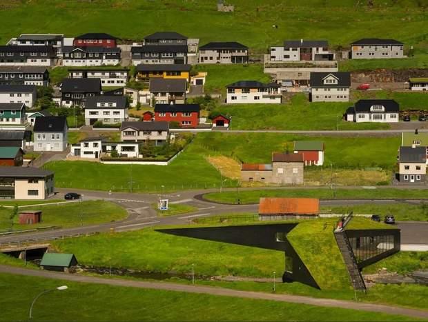 ратуша міст краєвид Фарерські острови