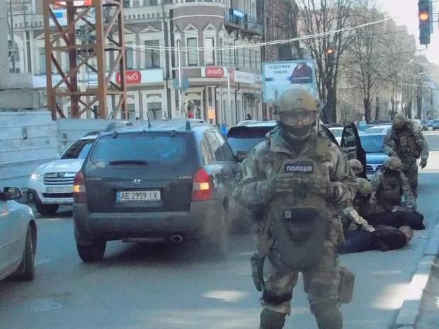 Дніпро стрілянина КОРД затримання поліція