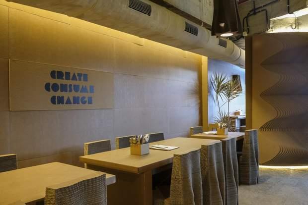 інтерєр кафе мумбаї