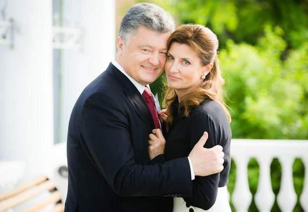 Марина та Петро Порошенко