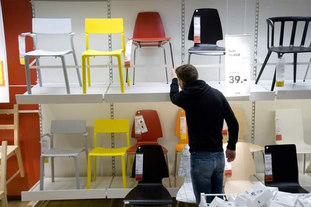 IKEA в Україні магазин стільці