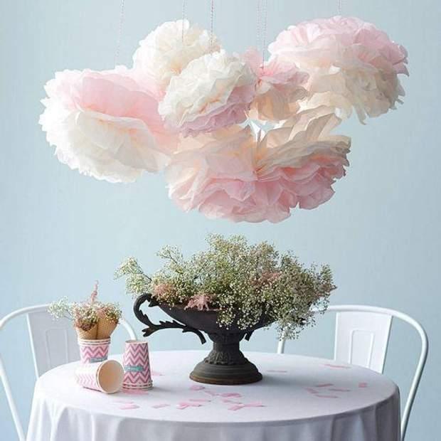 Паперові об'ємні квіти– для маленької принцеси чи вишуканої леді