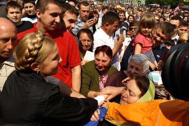 Юлія Тимошенко, вибори, помилки