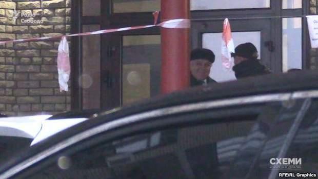 Машина відвозила Ярослава Гадзала в один із будинків на Печерську