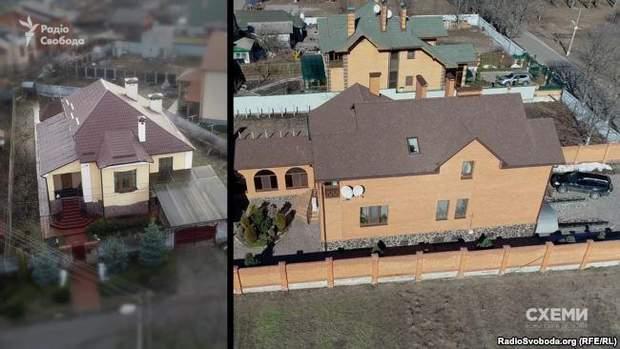 Два будинки у Київській області, які належать родині голови Інституту садівництва Ігоря Гриника