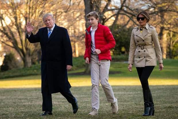 Дональд та Меланія Трамп у Вашингтоні