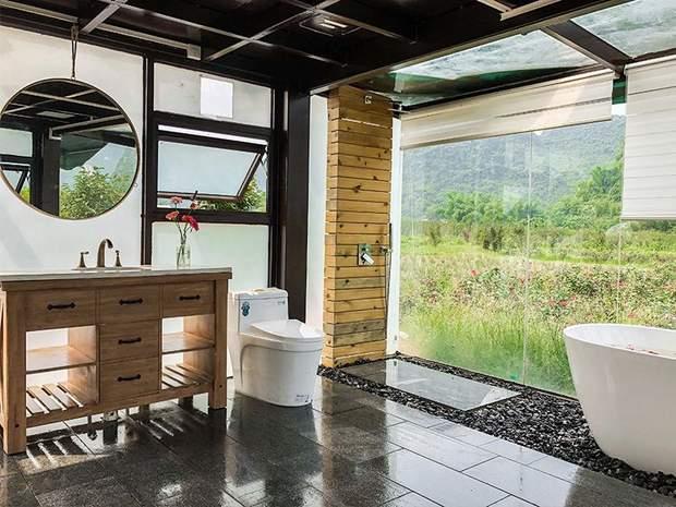 Інтер'єр ванної кімнати у Wow Bubble