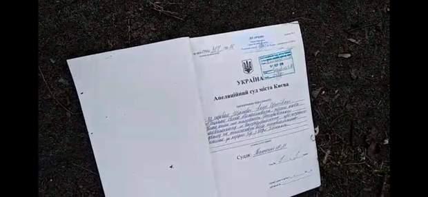 документи апеляційний суд Києва вітер шторм буревій