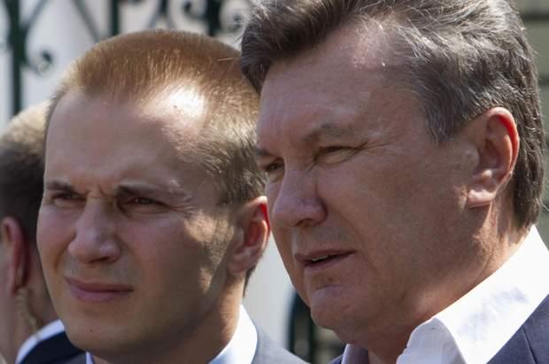 Олександр Янукович, Віктор Янукович