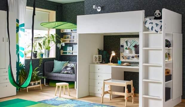 дизайн інтер'єр дитяча кімната