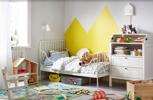 дизайн інтер'єр дитяча кімната IKEA