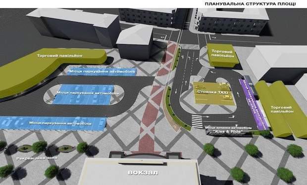 Тернопіль вокзал реконструкція