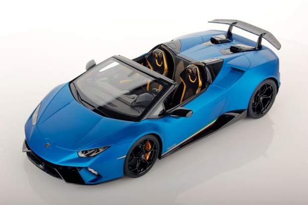Lamborghini показала відкрите купе Huracan Spyder
