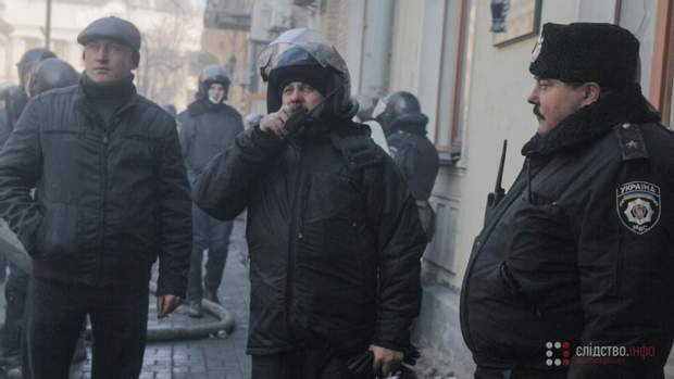Гриняк, Нацгвардія, розслідування, Майдан, протести, Беркут