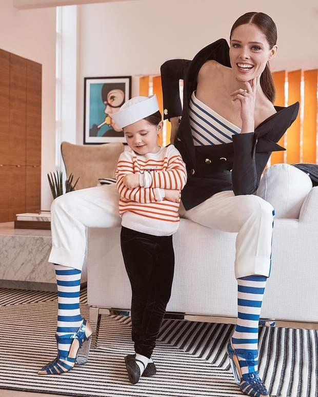 Коко Роша з дочкою Айоні Джеймс Конран
