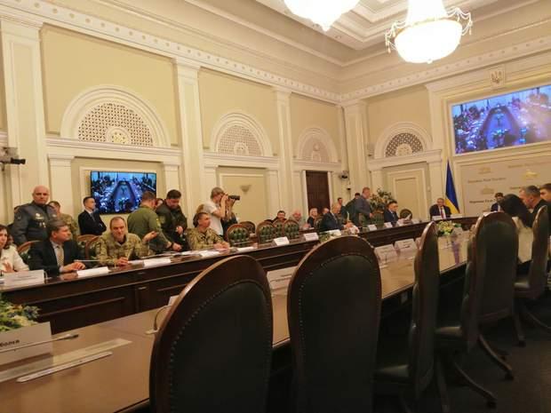 Засідання Тимчасової слідчої комісії