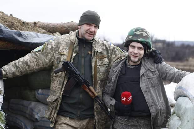 Олексій Годзенко та його батько Дмитро
