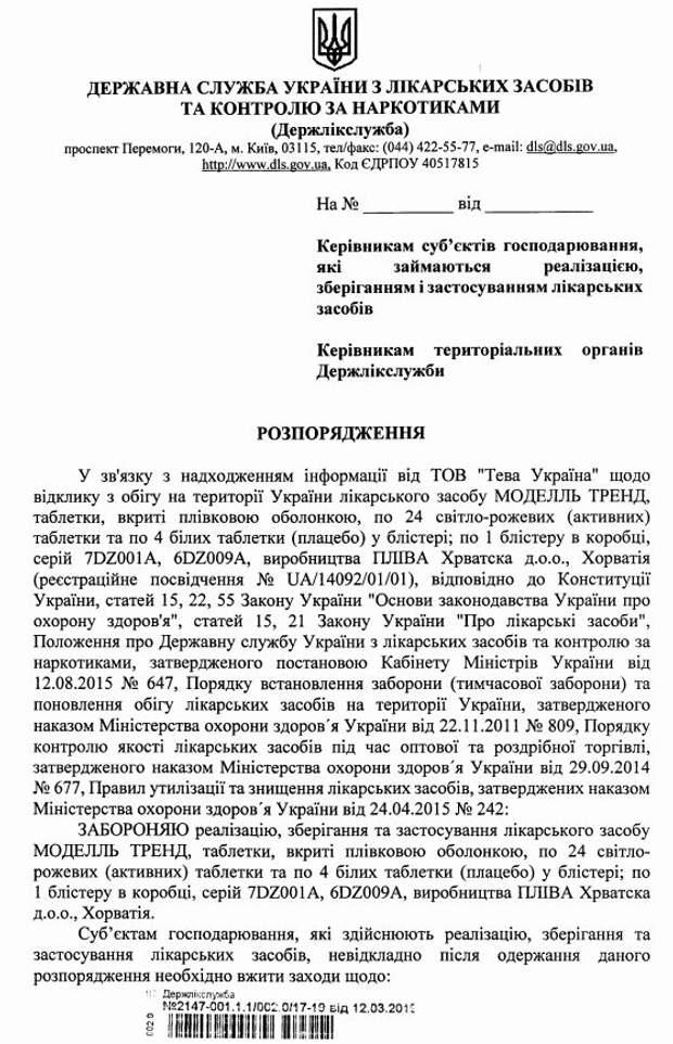 В Україні заборонили гормональні контрацептиви для жінок