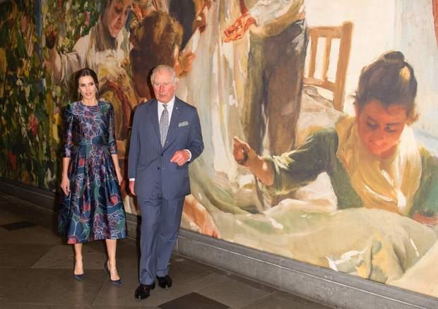 Королева Летиція і принц Чарльз