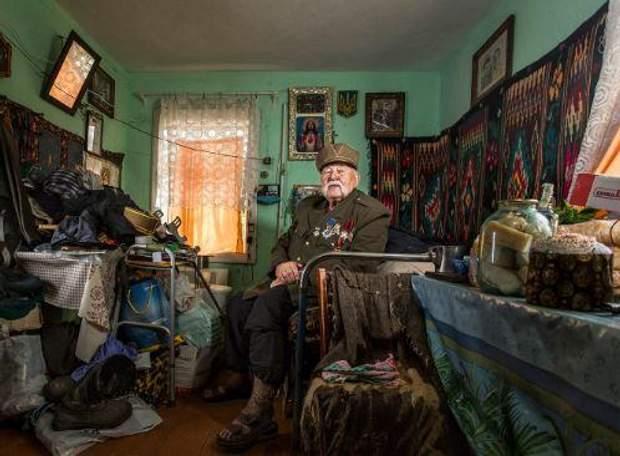 Фото з проекту про ветеранів Другої світової війни
