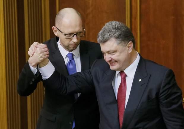 яценюк порошенко сша вибори