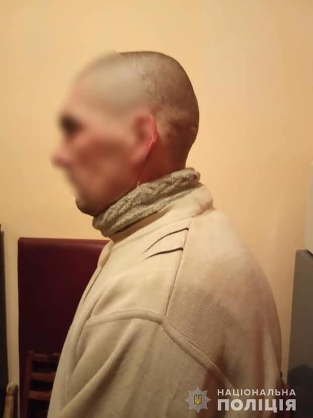 Чоловік, що скоїв злочин у селі Калинівка
