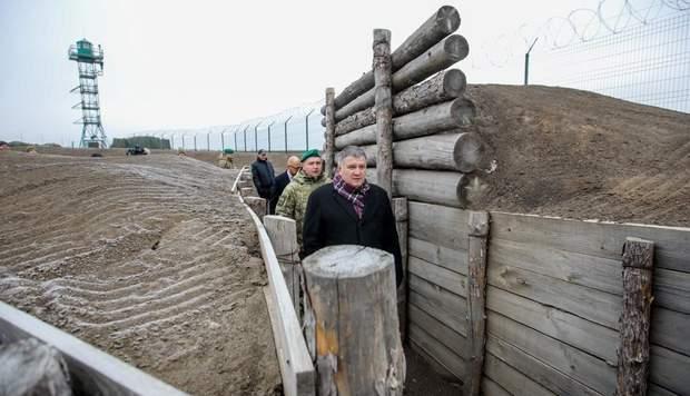 кордон стіна стіна кордон Україна Росія