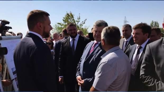 порошенко траса на миколаївщині ремонт