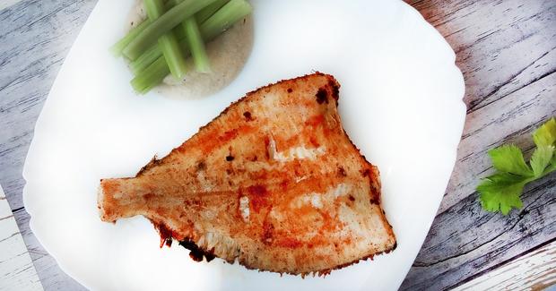 Камбала – рецепт диетического ужина для похудения