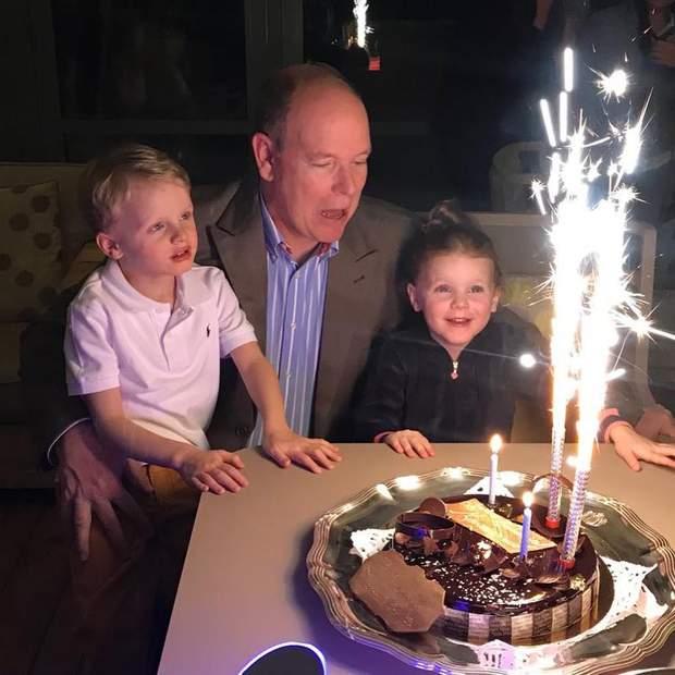 Князь Монако і його діти