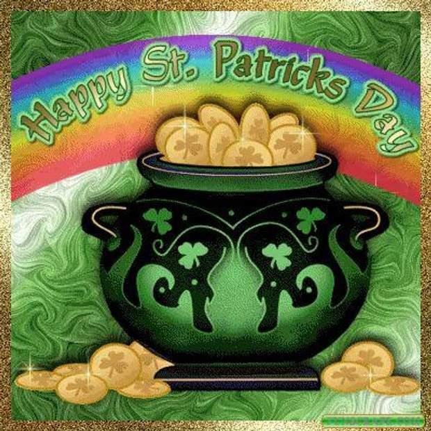 Картинки-поздравления с Днем святого Патрика: лучшая подборка