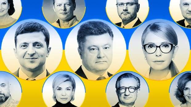Кандидати в президенти